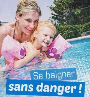 Se baigner sans danger (c)INPES.gouv.fr