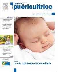 Cahiers de la puéricultrice : accompagner des parents en deuil d'un tout-petit