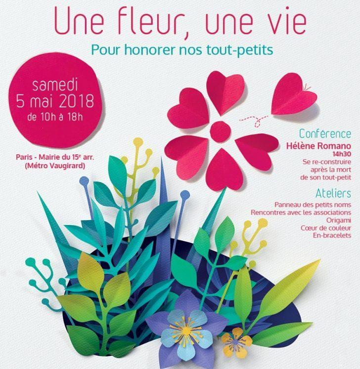 Une fleur, une vie