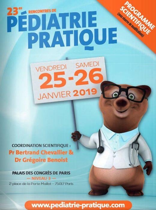 23ème rencontre de Pédiatrie pratique