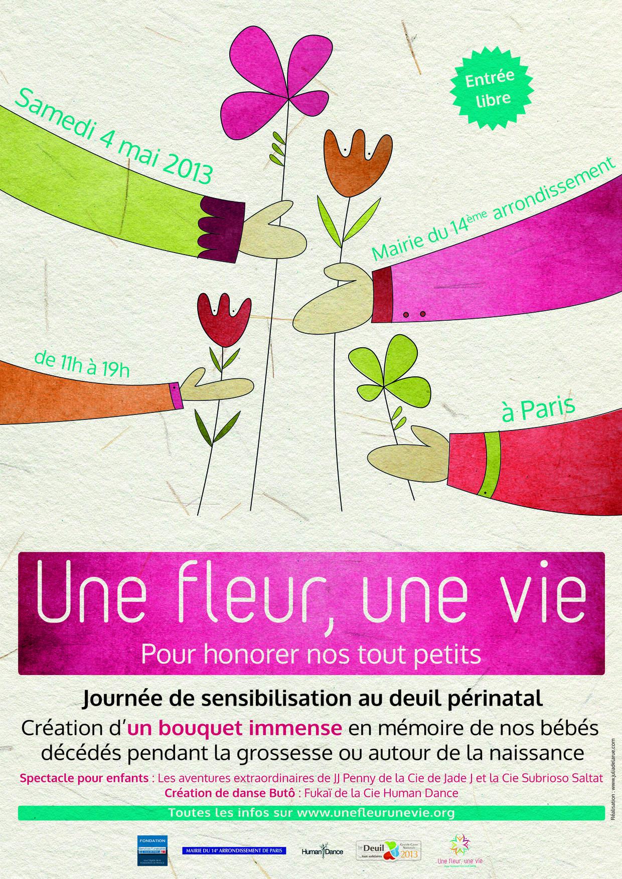 Diaporama «Une Fleur Une Vie 2013»