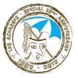 Logo 50 ans Les Acharnés Dunkerque