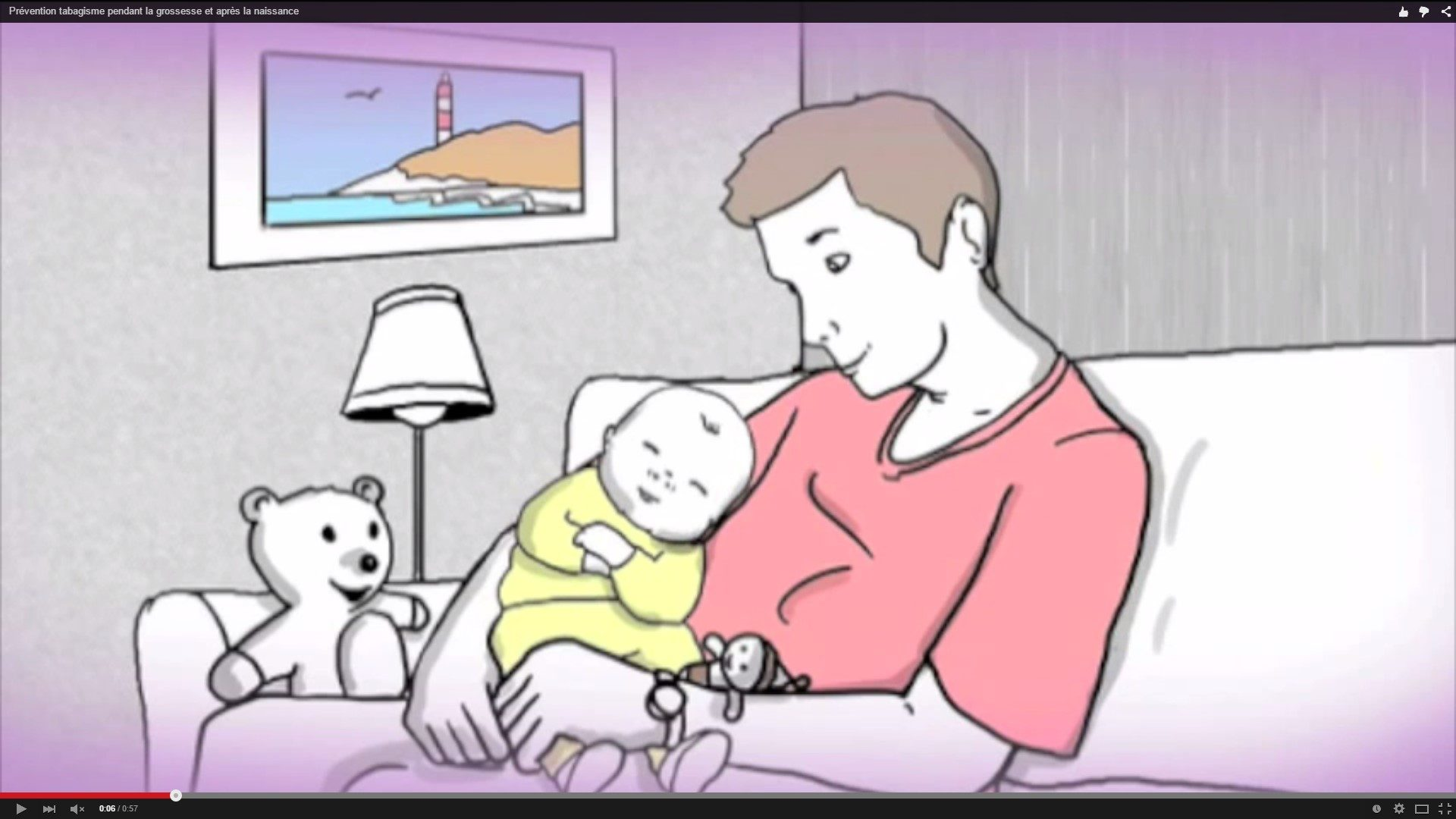 Prévention de la mort inattendue du nourrisson : la tabagisme