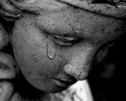Ce n'est pas grave, les larmes