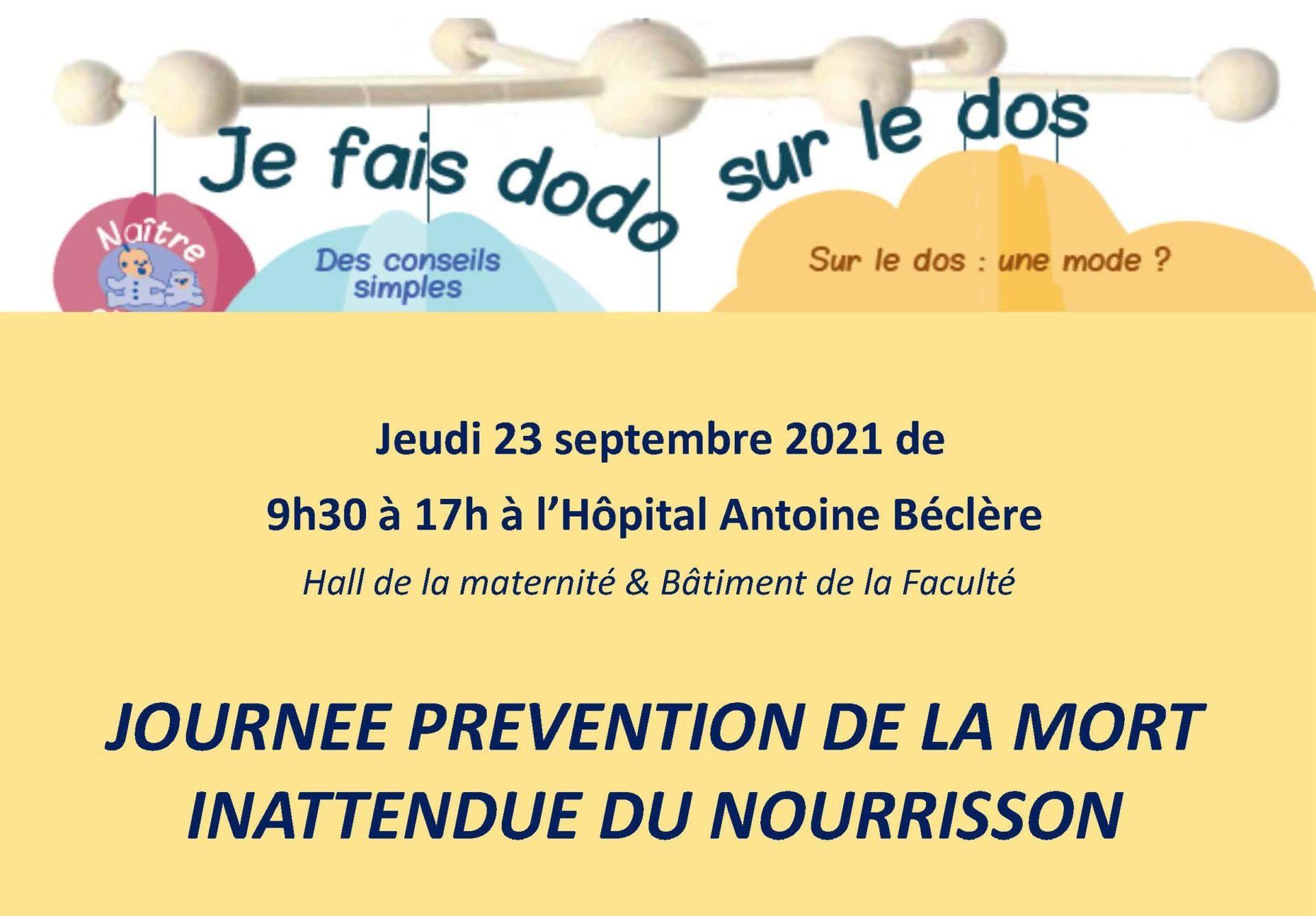 Semaine nationale de prévention de la MIN 2021