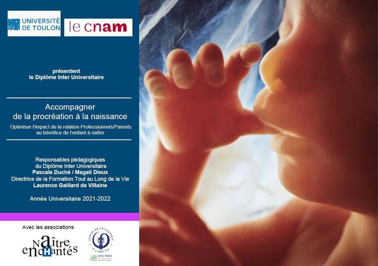 DU - Accompagner de la procréation à la naissance